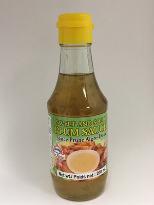 PORKWAN SWEET AND SOUR PLUM SAUCE 24X200ML