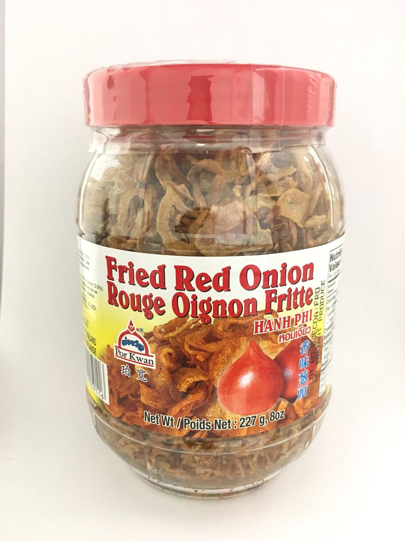 PORKWAN FRIED RED ONION 24X227G