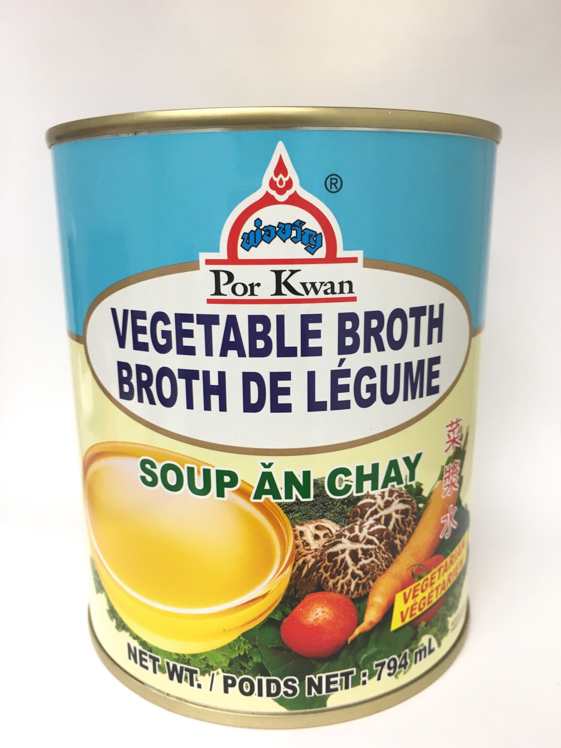 PORKWAN VEGTABLE BROTH 12X794G