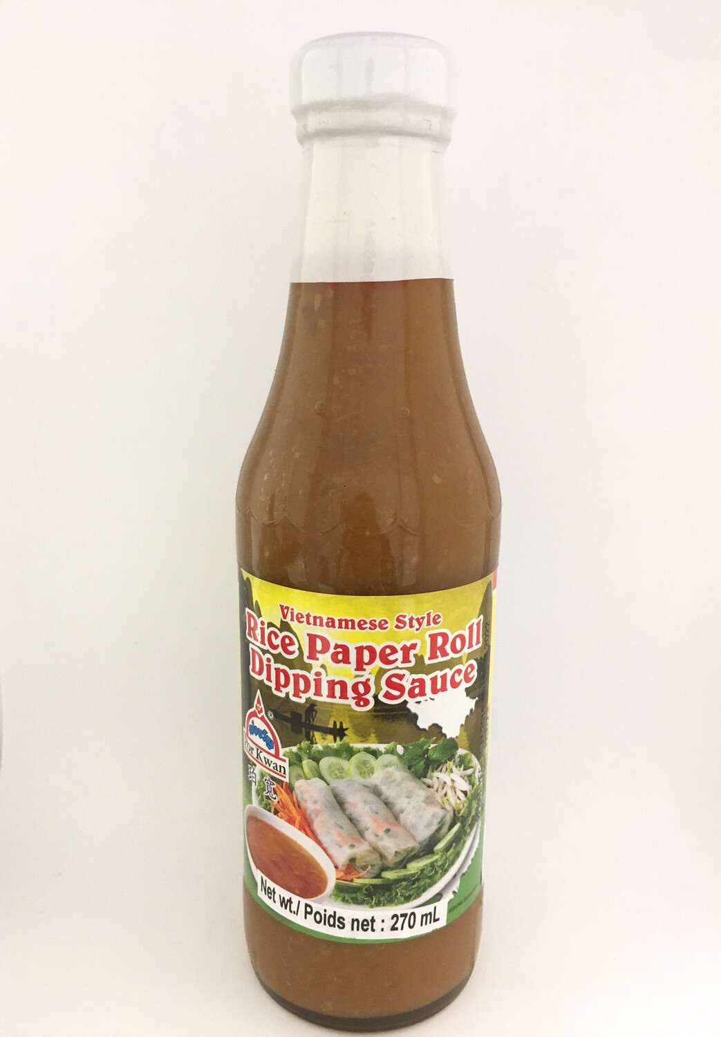 PORKWAN RICE PAPER ROLL DIPPING SAUCE 24X270ML