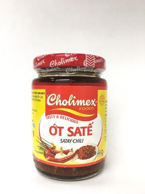 CHOLIMEX CHILI SATAY SAUCE 32X150G