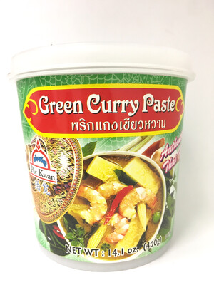 PORKWAN GREEN CURRY PASTE 6X400G