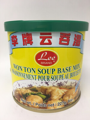 LEE WONTON SOUP BASE MIX 24X227G