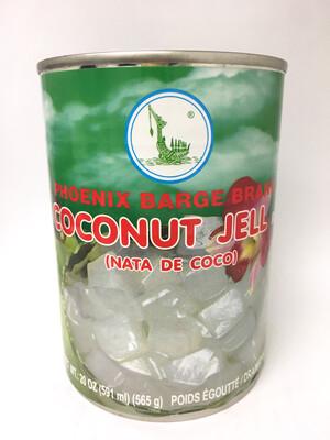 PHOENIX COCONUT JELLY (NATA DE COCO) 24X20OZ