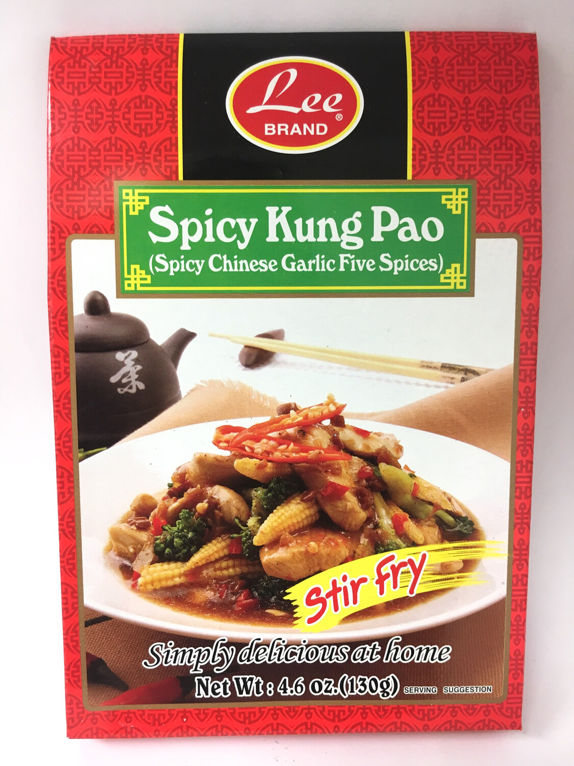 LEE SPICY KUNG PAO 12X130G