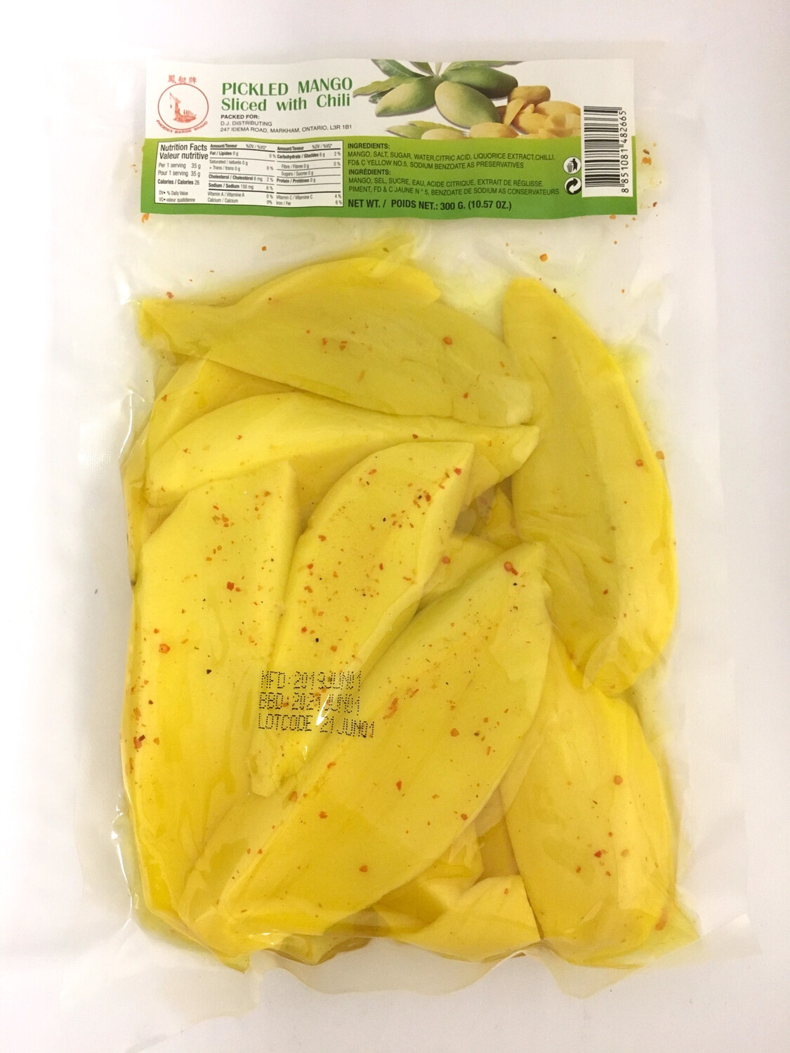 PHOENIX PICKLED MANGO WITH CHILI 50X300G