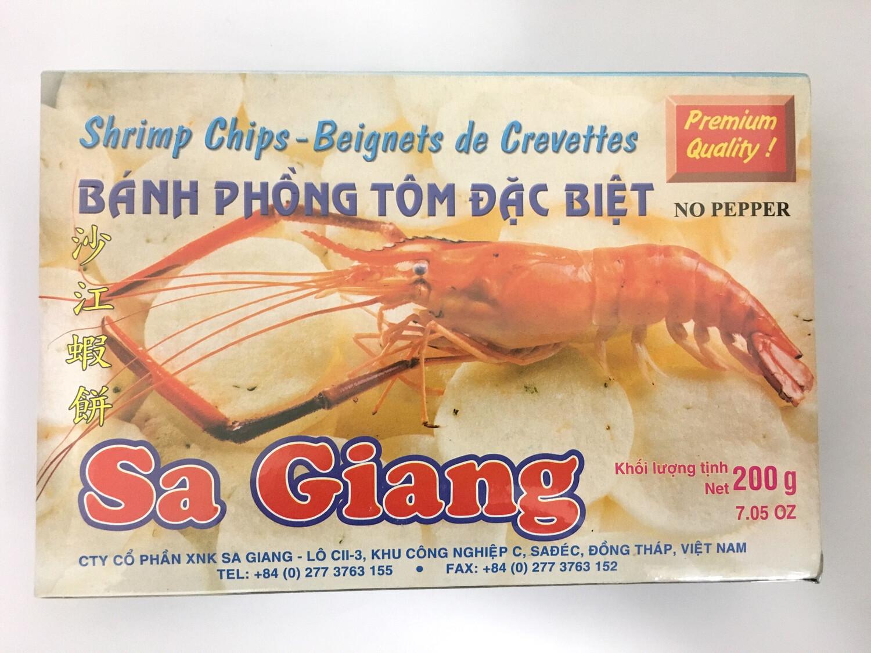 SA GIANG SHRIMP CHIPS 55X200G