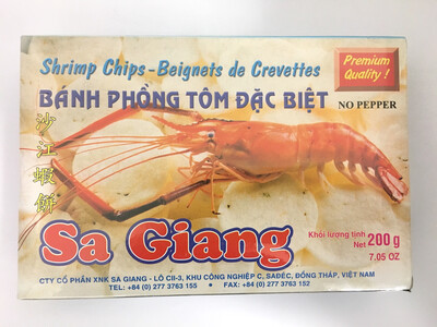 SA GIANG SHRIMP CHIPS 55X200G