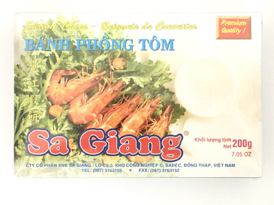 SA GIANG SHRIMP CHIPS 55X7OZ