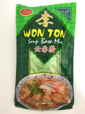 LEE WONTON SOUP BASE MIX 48X45G