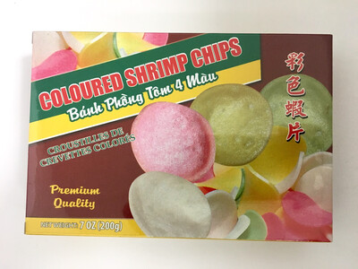 PHOENIX COLOURED SHRIMP CHIPS 50X7OZ
