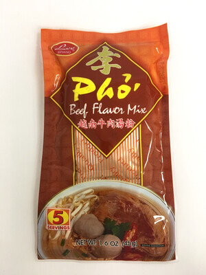 LEE PHO BEEF FLAVOUR MIX 48X45G
