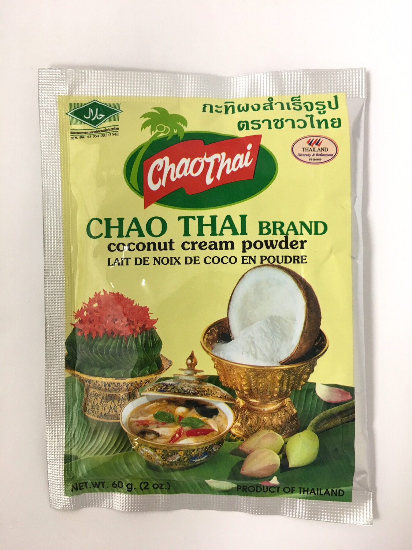 CHAO THAI COCONUT CREAM POWDER 10BG X 10PK X 60G