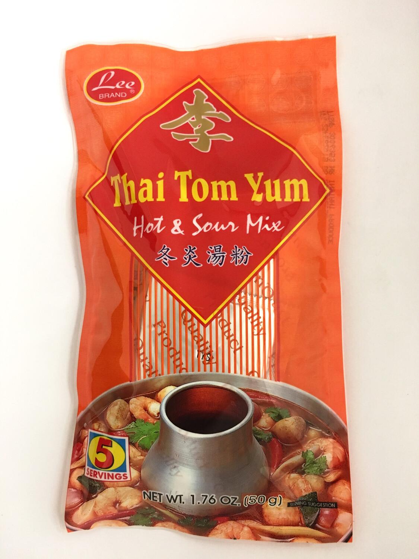 LEE THAI TOM YUM HOT & SOUR MIX 48X50G
