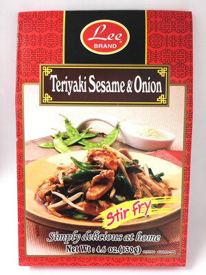 LEE TERIYAKI SESAME & ONION 12X130G