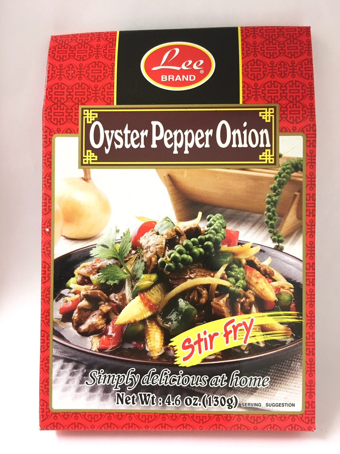 LEE OYSTER PEPPER ONION 12X130G