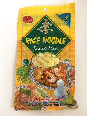 LEE RICE NOODLE SAUCE MIX 48X40G