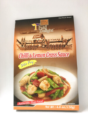 THAI DELIGHT CHILLI & LEMON GRASS SAUCE 24X130G