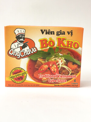 NOSAFOOD BO KHO SOUP SEASONING POWDER 144X75G