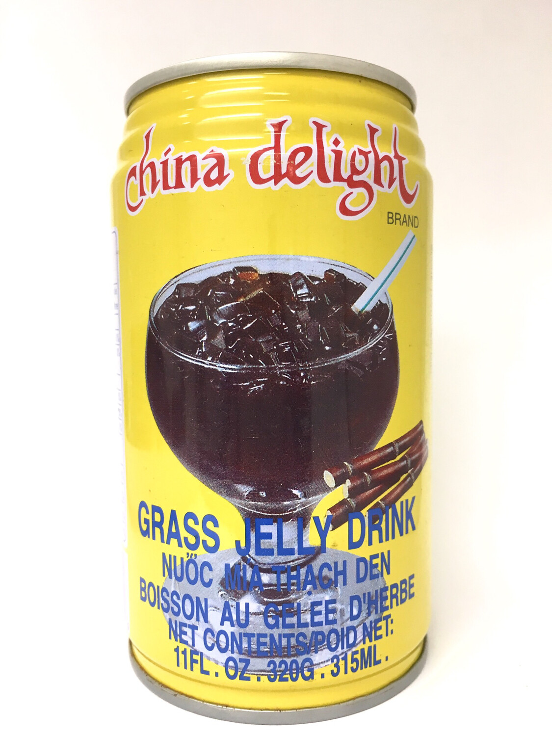 CHINA DELIGHT GRASS JELLY DRINK 24X320G