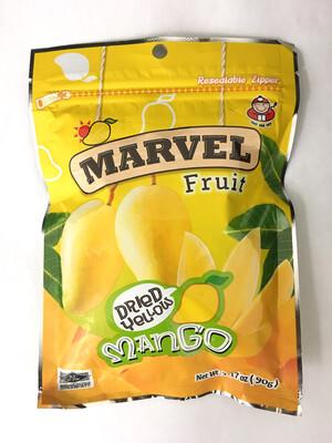 MARVEL DRIED MANGO 36X90G