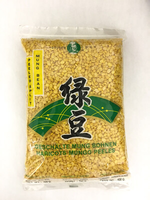 GOLDEN CHEF PEELED MUNG BEAN 50X400G