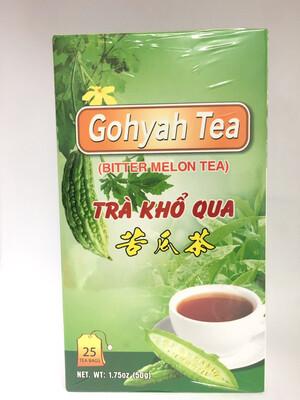 GOHYAH TEA BAGS 24BOXES X 25BAGS X 2G