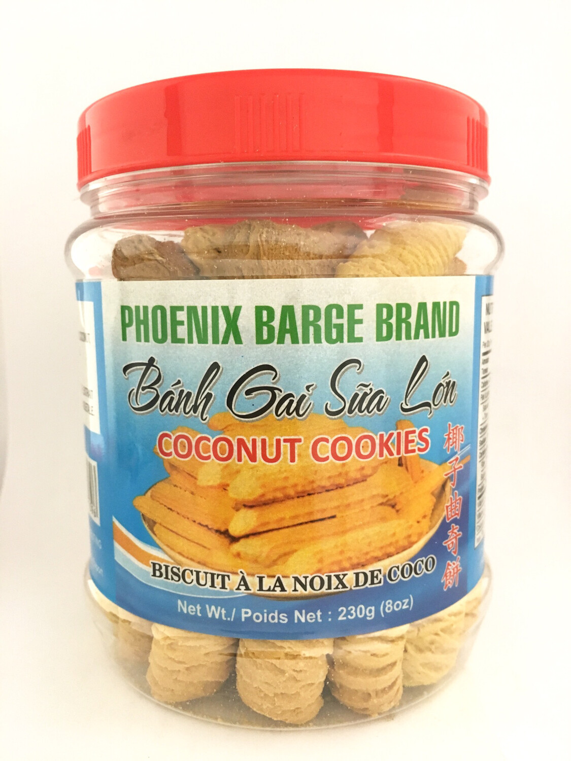 PHOENIX COCONUT COOKIES ROLL 12X230G