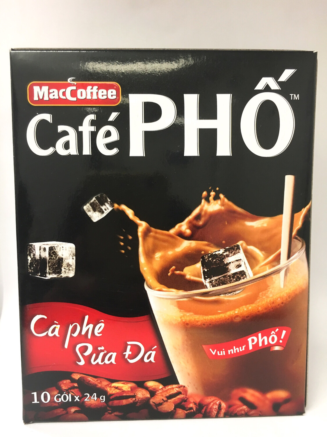 CAFE PHO MILK ICE COFFEE 60X10X24G