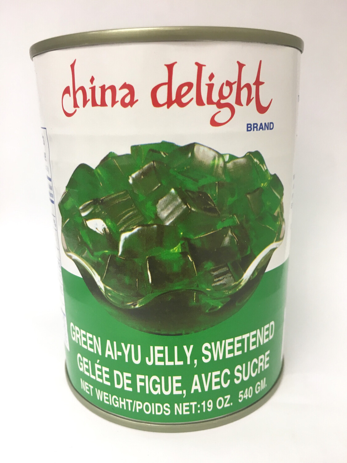 CHINA DELIGHT GREEN AIYU JELLY 24X540G
