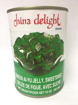 CHINA DELIGHT GREEN AIYU JELLY 24X540G