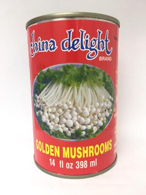 CHINA DELIGHT GOLDEN MUSHROOM 24X15OZ