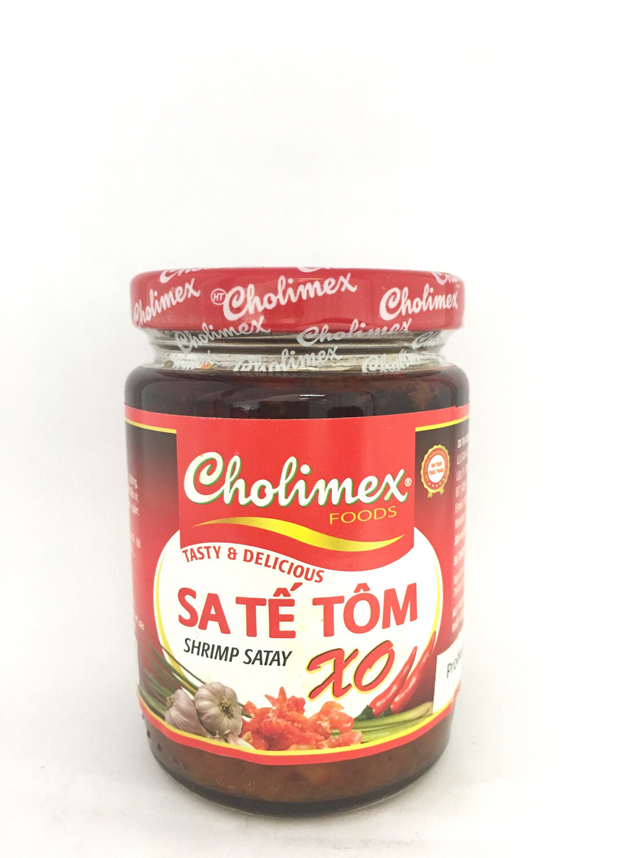 CHOLIMEX SATAY XO SAUCE 36X170G