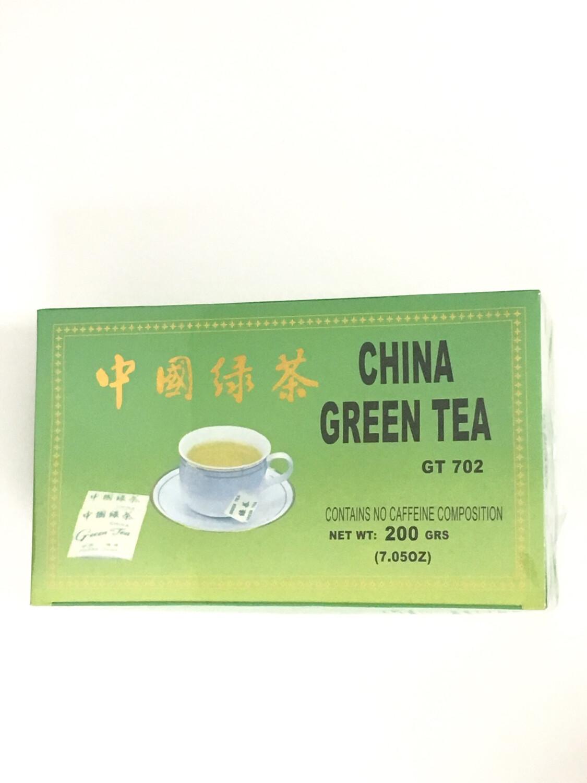 CHINA GREEN TEA 40X100BGS
