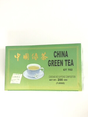 CHINA GREEN TEA 40X100BGS