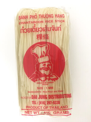 GOLDEN CHEF 1MM RICE STICK 34X400G