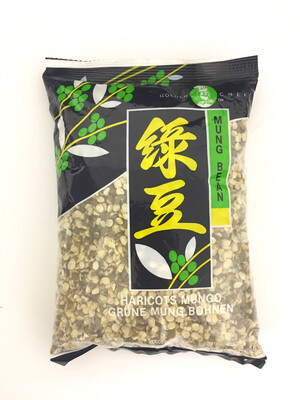 GOLDEN CHEF UNPEELED SPLIT MUNG BEAN 50X400G