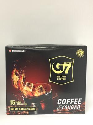 G7 2 IN 1 COFFEE & SUGAR 24X240G