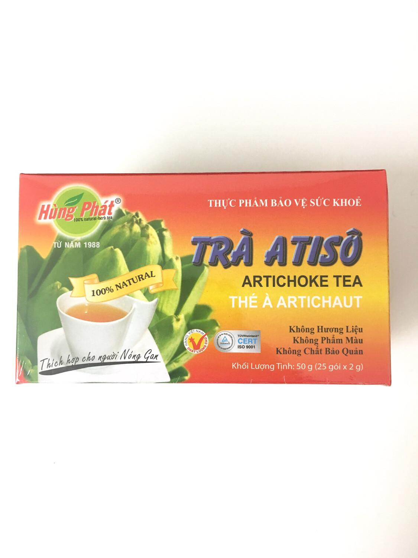 HUNG PHAT ARTICHOKE TEA 25BAGSX2G