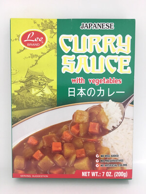 LEE JAPANESE CURRY (MILD) 24X200G