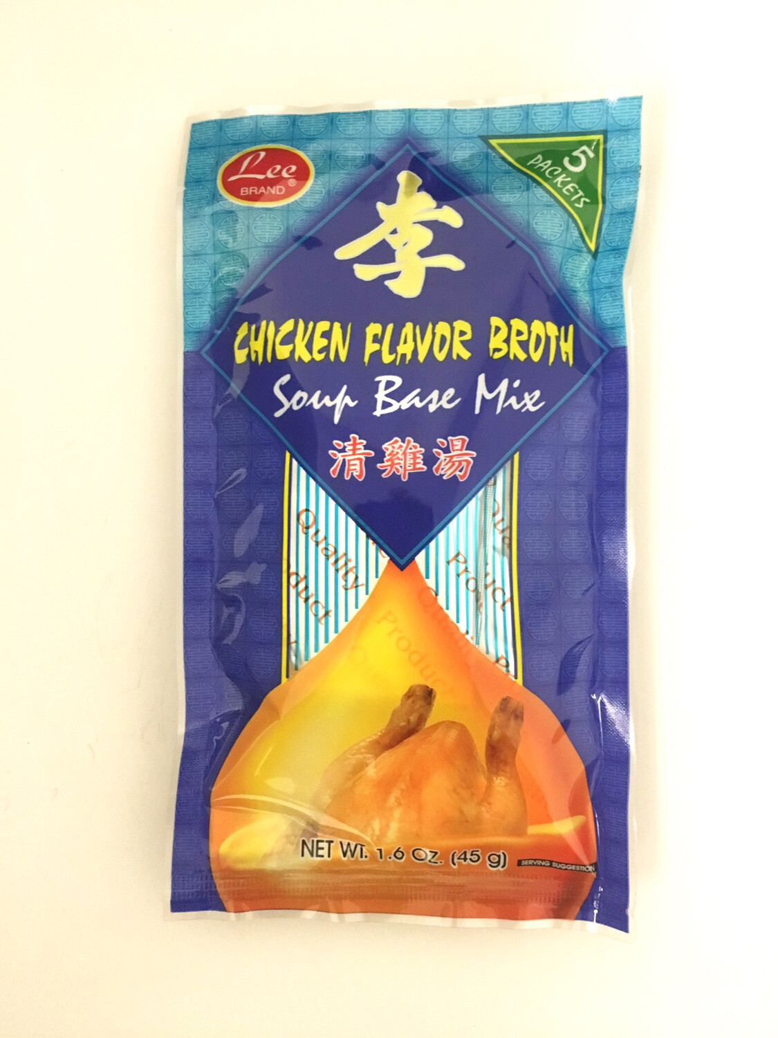 LEE CHICKEN BROTH MIX 48PK X 45G
