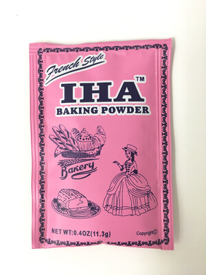 IHA BAKING POWDER 10BOXES X 18BG X 8PK