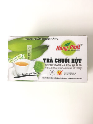HUNG PHAT SEEDY BANANA TEA 25BAGSX2G