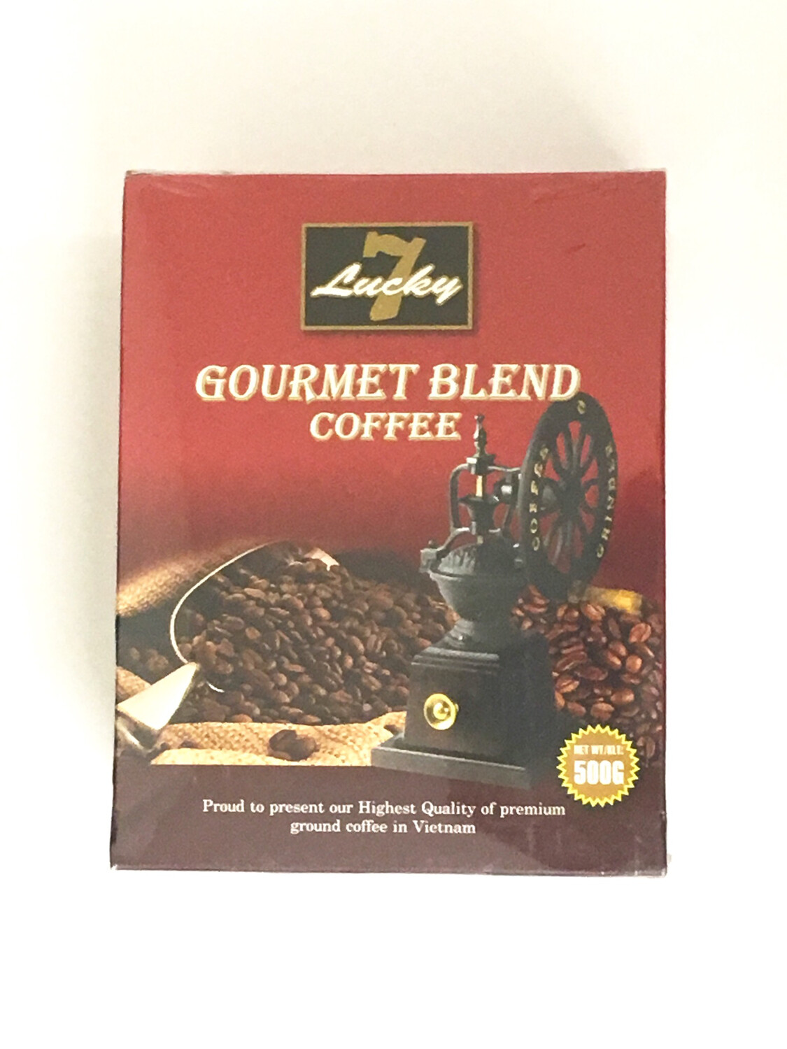 LUCKY 7 GOURMET BLEND COFFEE 20X500G