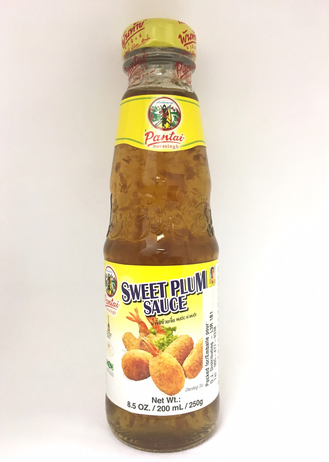 PANTAI SWEET PLUM SAUSE 24X200ML