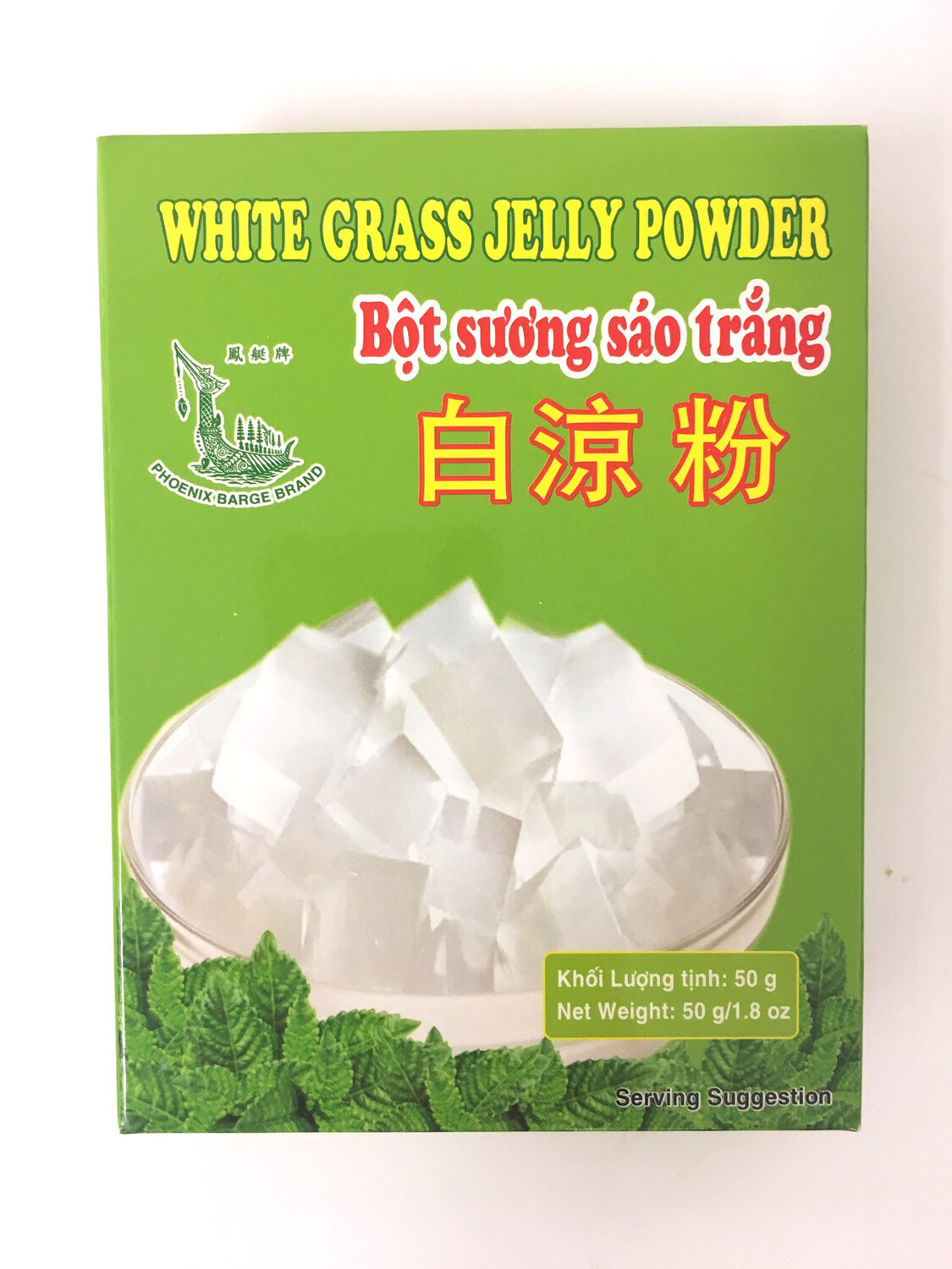 PHOENIX WHITE GRASS JELLY POWDER 30X140G