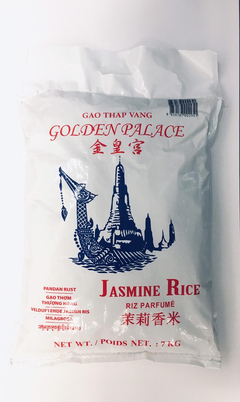 GOLDEN PALACE JASMINE RICE 7KG
