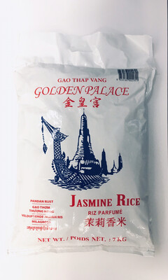 GOLDEN PALACE JASMINE RICE 7KG
