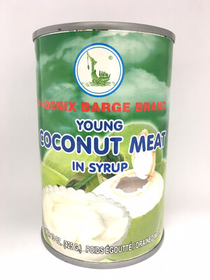 PHOENIX YOUNG COCONUT MEAT IN SYRUP 24X15OZ