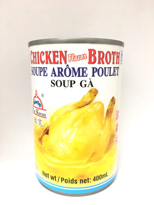 PORKWAN CHICKEN FLAVOR BROTH 24X400ML